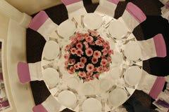 Ballroom table Royalty Free Stock Photo