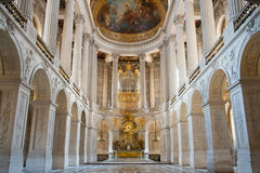 Ballroom Versaille Paris. Great Hall Ballroom in Versaille Palace Paris France stock photos