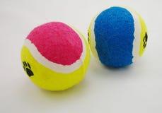 Balls. Coloful tennis balls Royalty Free Stock Image