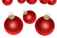 Balls. Christmas balls on a white background Stock Photo