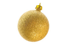 Balls-15. Celebratory sphere for a fur-tree for New Year or Christmas. A white background Stock Photography