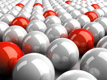 Balls. It is a lot of 3d color spheres Royalty Free Stock Photography