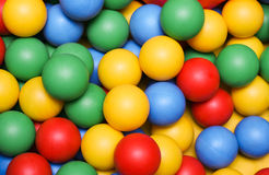 Balls!. A lot of balls! colors stock photos