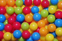 Balls. A background of coloured balls royalty free stock photography