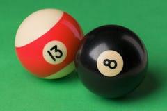 Balls. Billiard balls Stock Photography