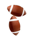 Balls for american football Royalty Free Stock Image