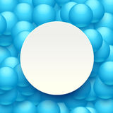 Balls background paper 02 Stock Image