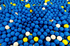 Balls in ball house play ground for kids Stock Photos
