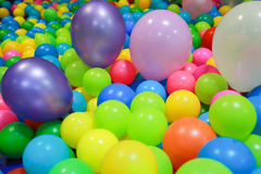 Balls and ballons Royalty Free Stock Images
