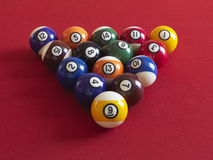 Balls for billiard Stock Photography