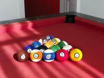 Balls for billiard Stock Image