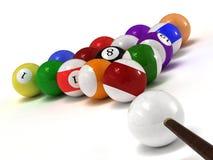 balls billiard Στοκ εικόνα με δικαίωμα ελεύθερης χρήσης