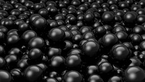 Balls Black Stock Images