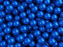 Balls blue glossy Royalty Free Stock Photography