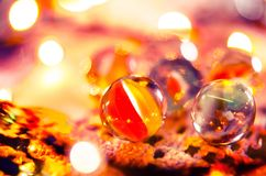 Balls, Bokeh, Bright Royalty Free Stock Images