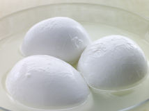 Balls of Buffalo Mozzarella Stock Images