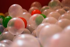 Balls. For children`s games Royalty Free Stock Photos