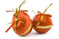 Balls of christmas Royalty Free Stock Photo