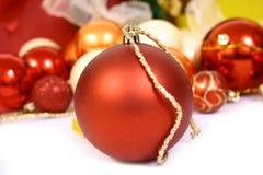 balls christmas Στοκ Φωτογραφίες