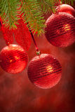 Balls - christmas decoration Royalty Free Stock Images