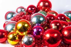 Balls christmas decoration Stock Photo