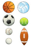 Balls Collection Stock Images