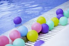 Balls Colorful royalty free stock image