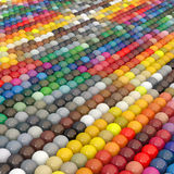 Balls-colors under catalogue RAL Stock Photo