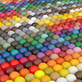 Balls-colors under catalogue RAL Royalty Free Stock Photo