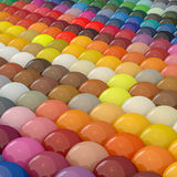 Balls-colors under catalogue RAL Royalty Free Stock Image