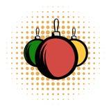Balls comics icon Stock Photos