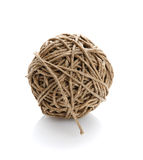 Balls of cord Royalty Free Stock Images