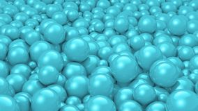 Balls Cyan Royalty Free Stock Photography