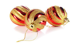 Balls decoration for New Year and Christmas Royalty Free Stock Photography