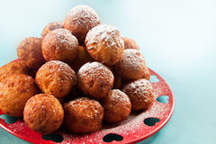 Balls deep fried Royalty Free Stock Photography