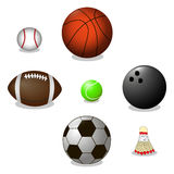 Balls for game Stock Image