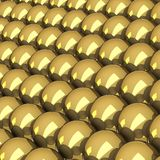 Balls of gold, Royalty Free Stock Photography