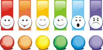 Balls for a golf Stock Images