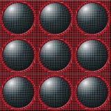 balls grid Στοκ φωτογραφίες με δικαίωμα ελεύθερης χρήσης