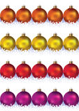 Balls for holiday tree Stock Image