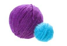 Balls Of Yarn Royalty Free Stock Photos