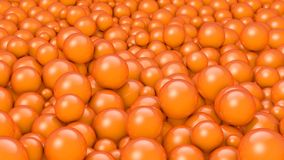 Balls Orange Stock Photo