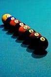 Balls in order Stock Photo