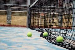 Balls of padel. royalty free stock photos