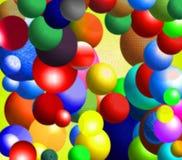 balls pattern Royalty Free Stock Image