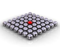 Balls pattern concept Stock Photography