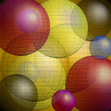 Balls pattern Royalty Free Stock Photo