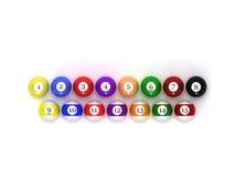 balls pool Στοκ εικόνες με δικαίωμα ελεύθερης χρήσης