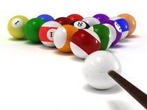 balls pool Στοκ Εικόνες