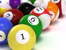 balls pool Στοκ εικόνα με δικαίωμα ελεύθερης χρήσης